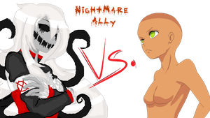 COLLAB: Nightmare Ally vs _________ by InvaderIka
