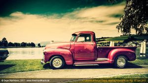 old pink chevy truck by AmericanMuscle