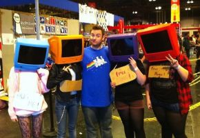 comic con- we met Tomska by lookattheflowers