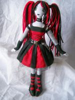 Ruby doll  version by dollmaker88