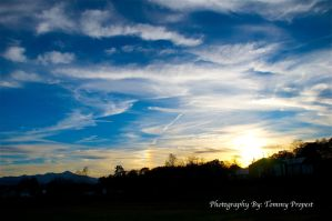 Cirrus Cloud Sunset 7884 by TommyPropest-Candler