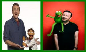 Jason Segel, Walter, Ricky Gervais and Constantine by YuiHarunaShinozaki