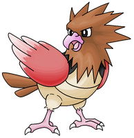 021 Spearow by Ninjendo