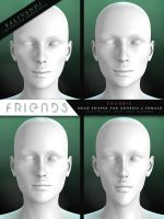 FREEBIE - Friends G2F Head Shapes by PLArts