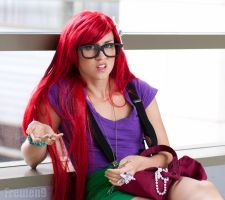 Hipster Ariel by NovemberCosplay