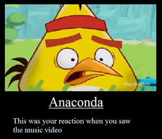 My Reaction to Nicki Minaj's Anaconda by GreenWingSpino32