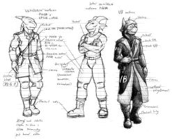 Uniforms of SSR Army by A-Teivos