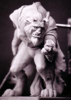 Beauty and the Beast sculpt3 by ArtNomad