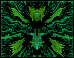 Green Man by chibiamy