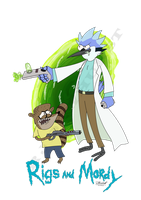 Rigs and Mordy by Doe-jo