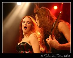 Epica - Simone and Mark Jansen by kebekershuki