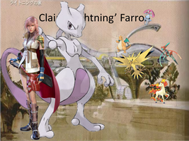 Lightning and her Pokemon by Elphaba-Fang