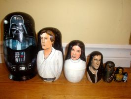 Star Wars Nesting Dolls by bachel60