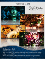 Slave Liquid Flow PSD Pack by Elleaeve