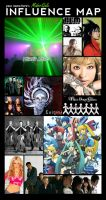 Influence map MUSIC by MidoriGale