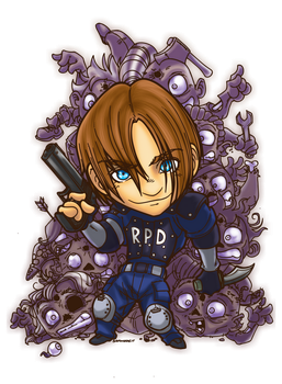 LEON KENNEDY by SAYOMADEIT