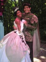 Hot Couple: Tiana and Naveen by GarnetMelody