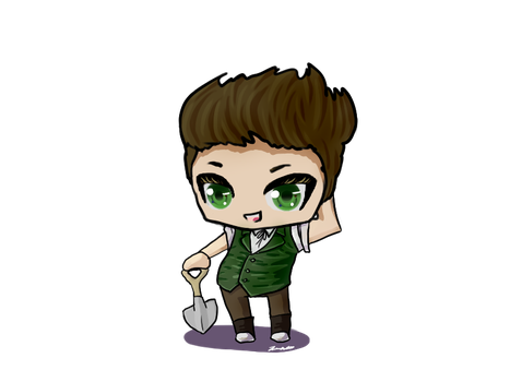 Greg Chibi by jimmykins07
