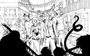 Left 4 Dead 2 Inked by TheEndofOurLives