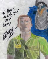 Adam Baldwin autograph by theneopetmaster