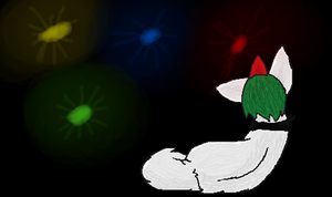 Watching the Fireworks l Pokepaws by Mousefur3