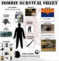 Zombie Survival Sheet by YNot1989