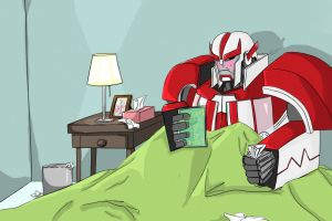 Ratchet With the Flu by whatwazthat