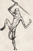 Spear Thrower by DSil