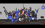 BLU Team Photo by AgentMidnight