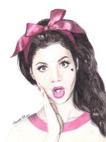 Marina and the Diamonds Coloured Pencil Drawing 2 by ArtbyCharlotte