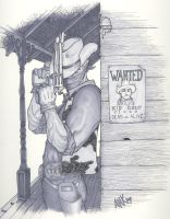 Kid Colt Outlaw by AaronKuder
