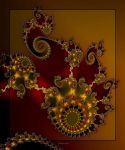 ultra fractal wallpaper - d by SvitakovaEva