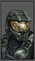 Halo Master Chief by DeEtte
