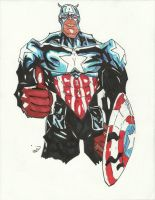 Captain America by kubadive