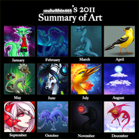 2011 art summary by soulwithin465