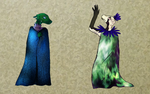 Queens in Cloaks by MasterOfGeckos