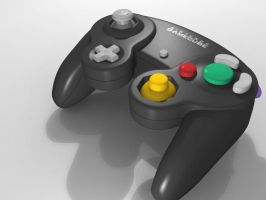 Gamecube Controller 3D by EverST