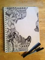 Zentangle by chaotikam