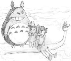 Totoro by 8thAndOliver