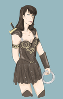 XENA WARRIOR PRINCESS by EmzieBee