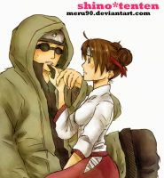 shino n tenten by meru90