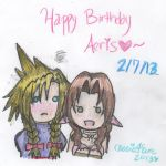 Happy Birthday Aeris: No Boys Allowed by cleris4ever