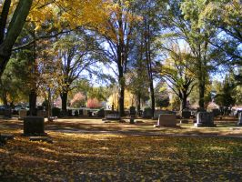 Autumn Cemetery 30 by DKD-Stock
