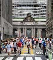 Grand Central on Foot by steeber