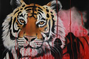 Poaching Tiger by annieseddon