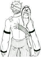 +NARUTO+ - Haku and Zabuza by AtsuiChokoreto