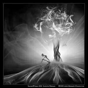SmokeWorks 26  Infinite dreams by m ozgur Digital Smoke Art and Photography