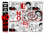 NO-vember. by GreenDayComix