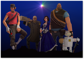 Guardians of the Source Filmmaker by E350tb