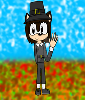 I'm wearing Thanksgiving clothes (Kinda) by SonicUS1000